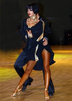 Загар для танцоров спортивных бальных танцов.