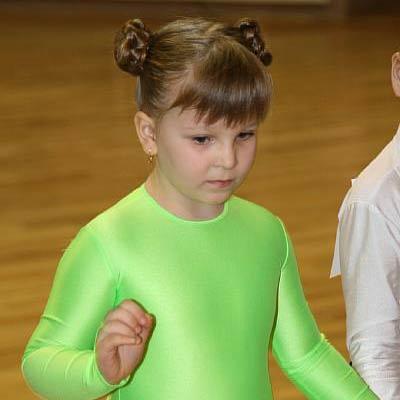 Прически для девочек в бально спортивном танце